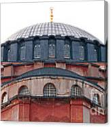 Hagia Sophia Curves 02 Canvas Print