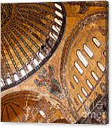 Hagia Sophia Dome 01 Canvas Print