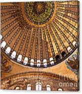 Hagia Sophia Dome 02 Canvas Print
