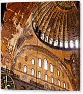 Hagia Sophia Dome 03 Canvas Print