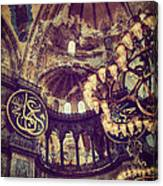 Hagia Sophia Lighting Canvas Print