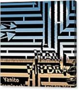 Hail Hydra Maze Meme Canvas Print