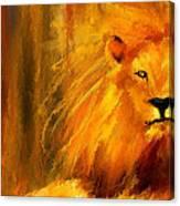 Hail The King Canvas Print