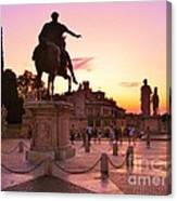Hail To All The Little Tourists Canvas Print