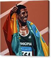 Haile Gebrselassie Canvas Print