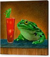 Hair Of The Frog... Canvas Print