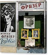 Hairdresser. Belgrade. Serbia Canvas Print