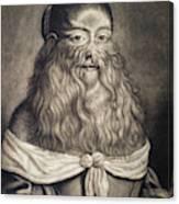 Hairy Maid, 17th Century Canvas Print