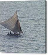 Haitain Fisherman Canvas Print