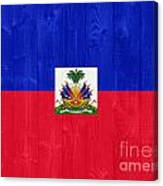 Haiti Flag Canvas Print