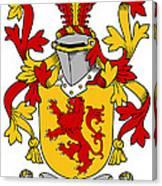 Hale Coat Of Arms Irish Canvas Print