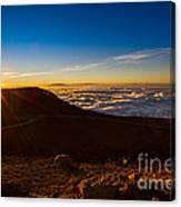 Haleakala Burst Canvas Print