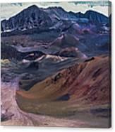Haleakala Summit Crater Canvas Print