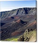 Haleakala Sunrise On The Summit Maui Hawaii - Kalahaku Overlook Canvas Print