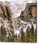Menacing Rocks Canvas Print