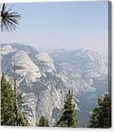 Half Dome Panorama View Canvas Print