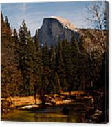 Half Dome Spring Canvas Print