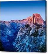 Half Dome Twilight Canvas Print