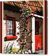 Wexford  Half Door Canvas Print