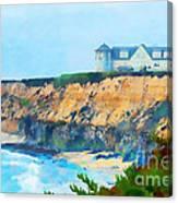Half Moon Bay 2 Canvas Print