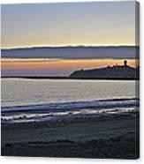 Half Moon Bay Sunset Canvas Print