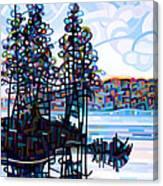 Haliburton Morning Canvas Print