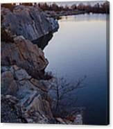 Halibut Point In Rockport Canvas Print