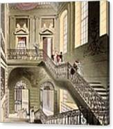 Hall And Staircase At The British Canvas Print