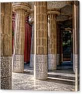 Hall Of 100 Columns Canvas Print