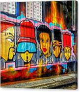 Hall Of Fame At Hosier Lane	 Canvas Print