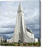 Hallgrimskirkja Iceland Canvas Print