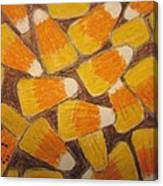 Halloween Candy Corn Canvas Print