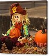 Halloween Doll Canvas Print