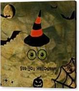 Halloween Eyes Canvas Print
