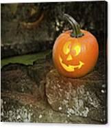 Halloween Jack O Lanterns Canvas Print