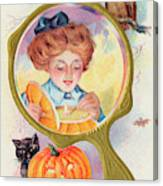 Hallowe'en Magic - Lighting Canvas Print