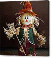 Halloween Scarecrow Canvas Print