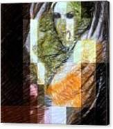 Halloween Scream Canvas Print