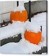 Halloween Snow Canvas Print
