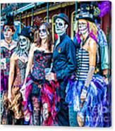 Halloween Team Canvas Print