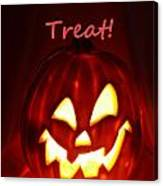 Halloween Trick Or Treat Canvas Print