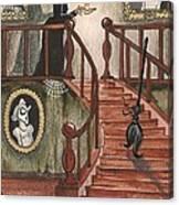 Halloween Witch Canvas Print