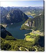 Hallstatt Lake Austria Canvas Print