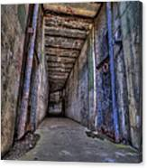 Hallway To Yesteryear Canvas Print