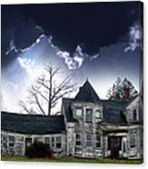 Haloween House Canvas Print