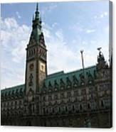 Hamburg - City Hall - Germany Canvas Print