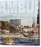 Hamburg Canvas Print