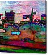 Hamilton Ohio City Art 10 Canvas Print