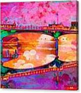 Hamilton Ohio City Art 5 Canvas Print