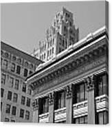 Hamilton Ontario Architecture  Main And James Canvas Print